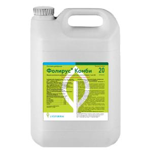 Фолирус Комби - жидкое комплексное удобрение с повышенным содержанием азота и магния для листовой подкормки - фото